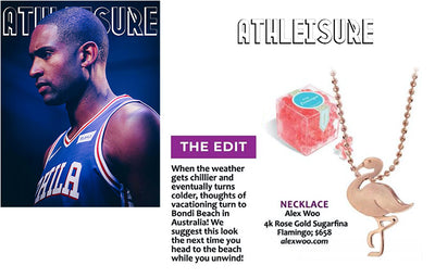 Athleisure Magazine - Sugarfina Flamingo