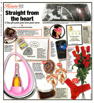 New York Post - Haute List: Straight from the heart