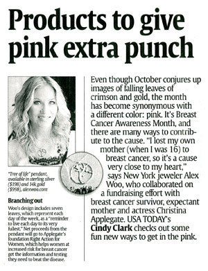 USA Today - Products to give pink extra punch