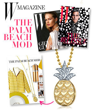 W Magazine - The Palm Beach Mod