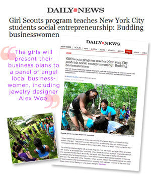 NY Daily News - Girl Scouts program teaches New York City students social entrepreneurship: Budding businesswomen