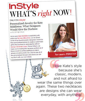 InStyle - Personalized Jewelry for Kate Middleton: What Designers Would Give the Duchess