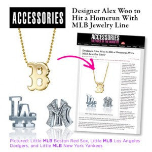 Accessories Magazine - Designer Alex Woo to Hit a Homerun with MLB Jewelry Line
