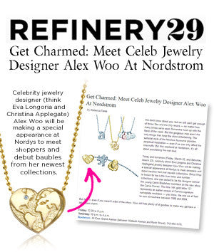 Refinery29 - Get Charmed: Meet Celeb Jewelry Designer Alex Woo At Nordstrom
