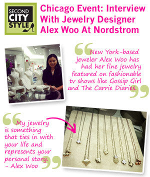 Second City Style - Interview With Jewelry Designer Alex Woo at Nordstrom