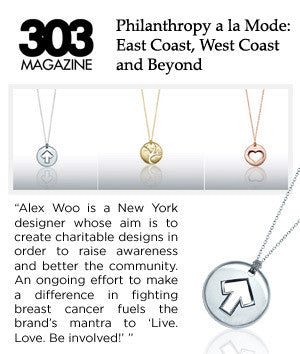 303 Magazine - Philanthropy a la Mode: East Coast, West Coast, and Beyond