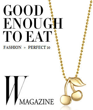 W Magazine - Good Enough To Eat