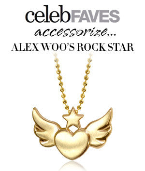 Celeb Faves - Accessorize...Alex Woo's Rock Star