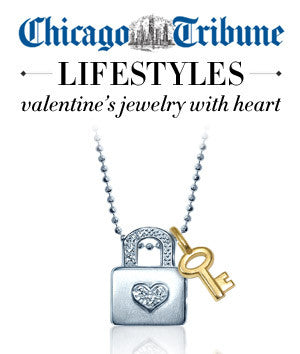 Chicago Tribune - Valentine's Jewelry with Heart