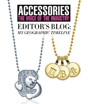 Accessories Magazine - Editor's Blog: My Geographic Timeline
