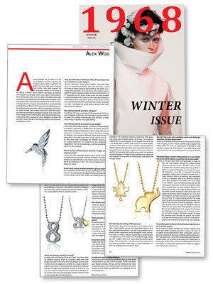 1968 Magazine - Interview: Jewelry Designer Alex Woo