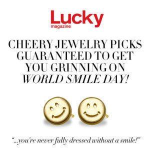 Lucky Magazine - Cheery Jewelry to Get You Grinning!