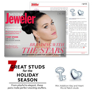 National Jeweler - 7 Great Studs for the Holiday Season