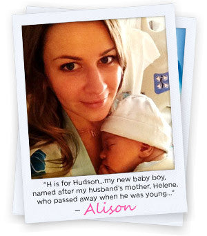 Alison - H is for Hudson