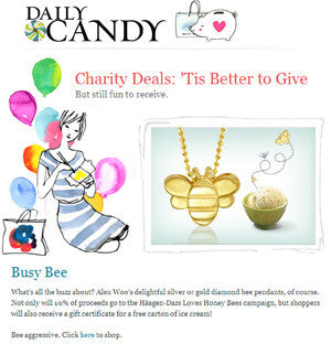 Daily Candy - Busy Bee