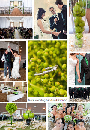 Glamour Weddings - Real Wedding Album : Jen & Brad