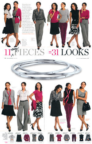Good Housekeeping - 11 Easy Pieces = 31 Looks