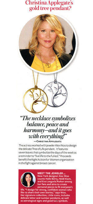InStyle – Where Can I Find Christina Applegate's Gold Tree Pendant?
