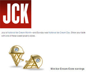 JCK - I Scream, You Scream, We All Scream for Ice Cream…Jewelry