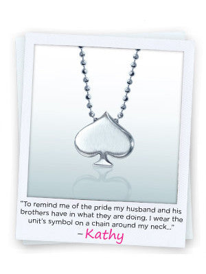 "Kathy - ""My Little Silver Reminder of Him"""