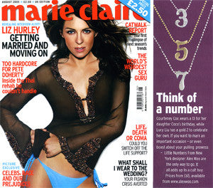Marie Claire (UK) - Think of a Number!