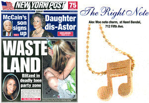 New York Post - Page Six 'Three is a Charm'