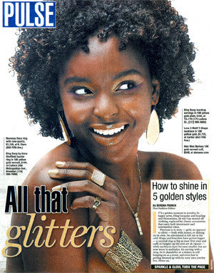New York Post - All That Glitters!