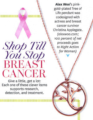 O Magazine - Shop Till You Stop Breast Cancer