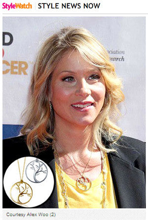 People.com - Christina Applegate Turns Jewelry Co-Designer to Help Fight Breast Cancer