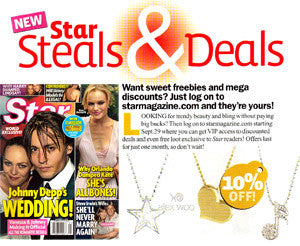 Star Magazine – Star Steals & Deals