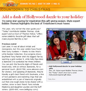 The Today Show - Add a Dash of Style to Your Holiday