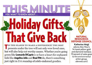 Us Weekly - Holiday Gifts that Give Back