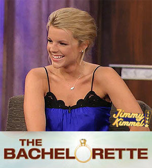 Bachelorette Ali Fedotowsky with Little Luck!