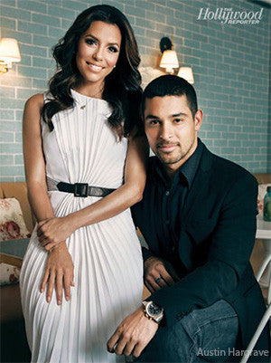 Hollywood Reporter - Wilmer Valderrama and Eva Longoria Get Out the Latino Vote