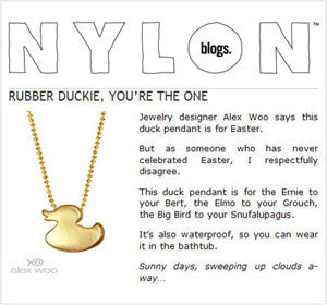 Nylon - Rubber Duckie, You're the One