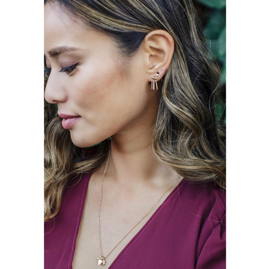 Jamie Chung - Mini Addition Cluster Necklace