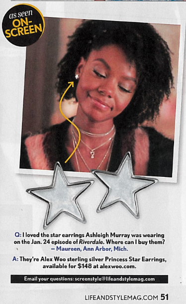 Life & Style - Princess Star Earrings