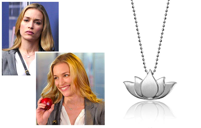 Piper Perabo wearing Alex Woo Little Faith Lotus Blossom in Covert Affairs