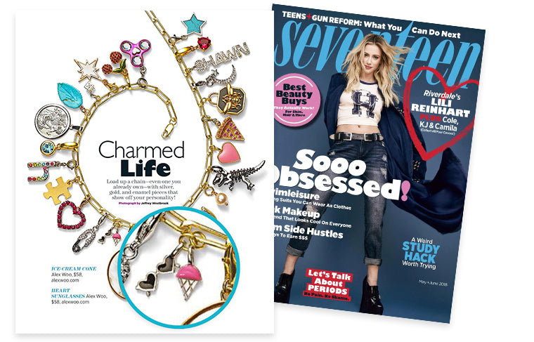 Seventeen Magazine May + June 2018 Charmed Life