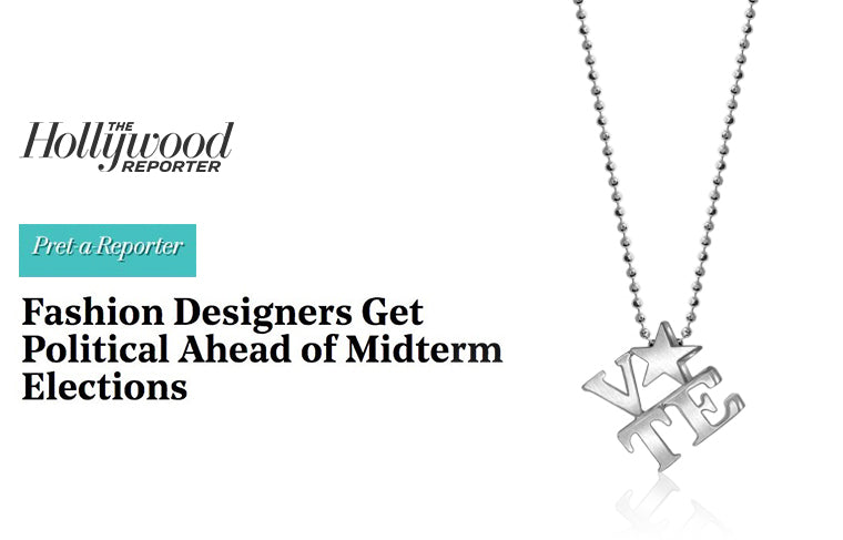 As Seen In The Hollywood Reporter :: Fashion Designers Get Political