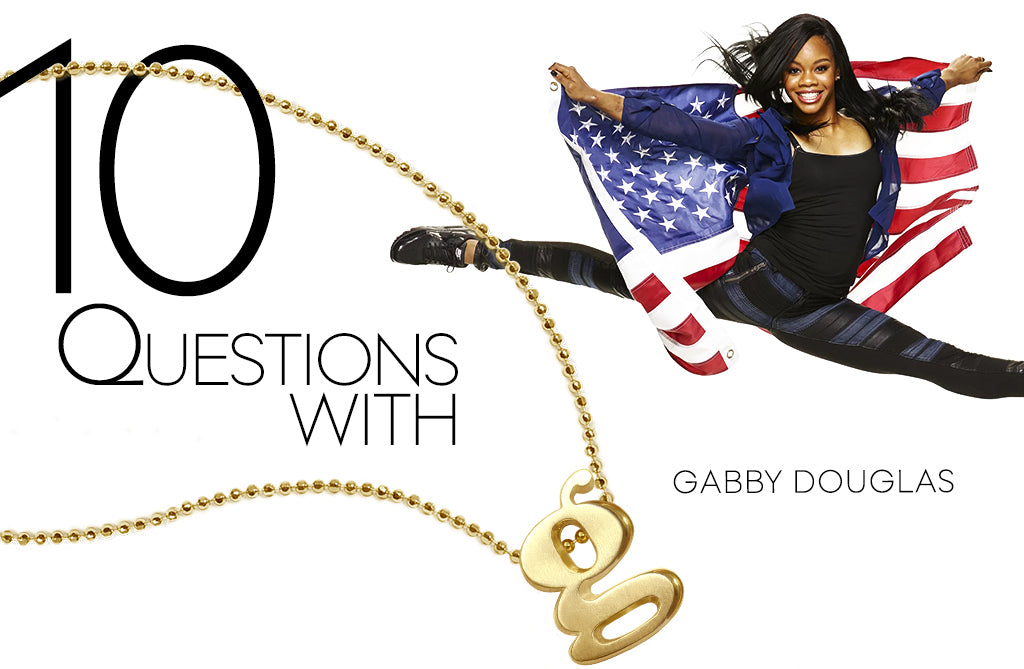 Charm the World | 10 Questions with Gabby Douglas
