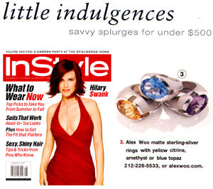 Instyle August 2001