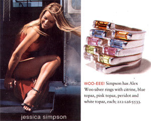 Jessica Simpson Instyle July 2001