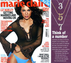 Marie Claire August 2005