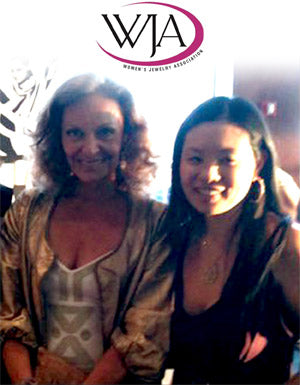 Alex Woo with Diane von Furstenburg