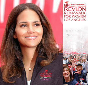 Revlon Walk - Halle Berry