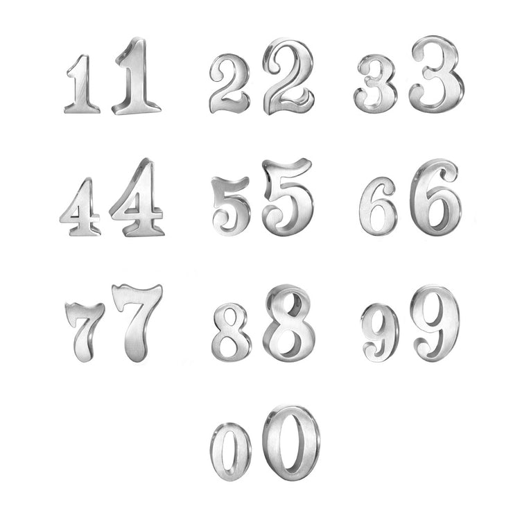 Custom Little Icons™ Double Numbers