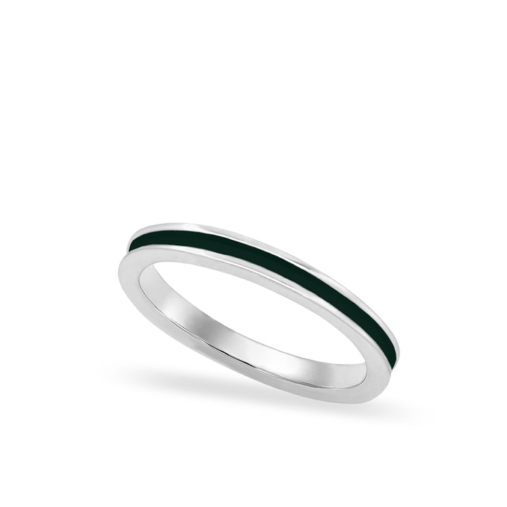 Enamel Stacker Ring