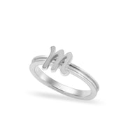 Custom Sterling Silver Autograph Ring