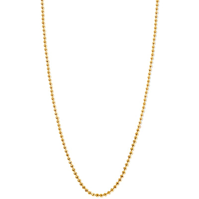 Disco Chain in 18kt Gold - 1 mm